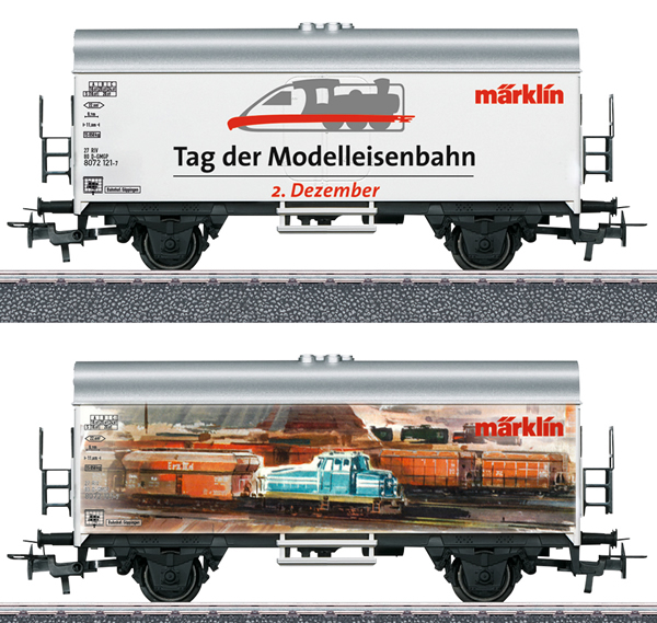Marklin 44260 - Refrigerator Car – International Model Railroading Day 2019