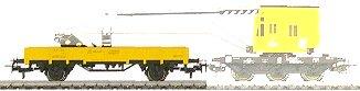 Marklin 4471 - LOW SIDE GONDOLA DB        93