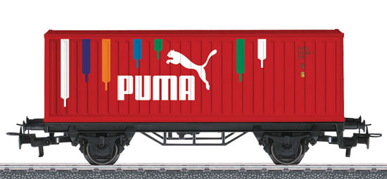 Marklin 44811 - Container Wagon PUMA - START UP