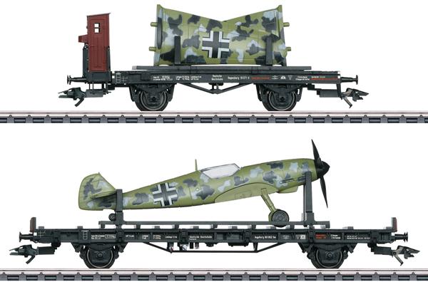 Marklin 45088 - German Messerschmidt 109 Transport Set