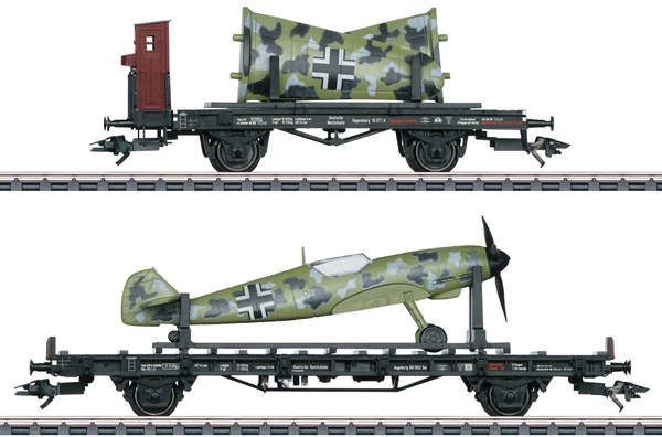 Marklin 45088 - German Messerschmidt 109 Transport Set