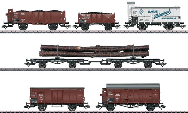 Marklin 46017 - German Freight Car Set of the DRG