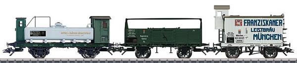 Marklin 46066 - 3pc Royal Bavarian Freight Car Set