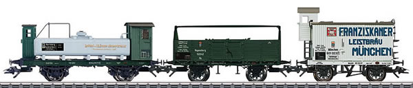 Marklin 46066 - 3pc Royal Bavarian Freight Car Set