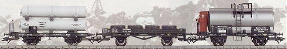 Marklin 46073 - 3pc Zeppelin Car Set
