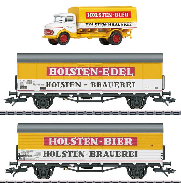 Marklin 46172 - German Beer Car Set of the DB