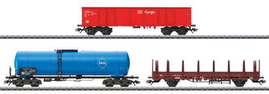 Marklin 46190 - Modern Freight Service Car Set