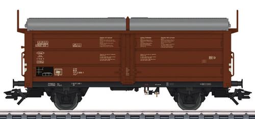 Marklin 46196 - German Tims 858 Sliding Roof / Sliding Wall Fright Car of the DB