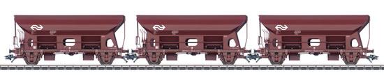 Marklin 46317 - Set with 3 Dump Cars type Fcs