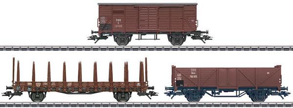 Marklin 46392 - 3pc Goods Wagon Set