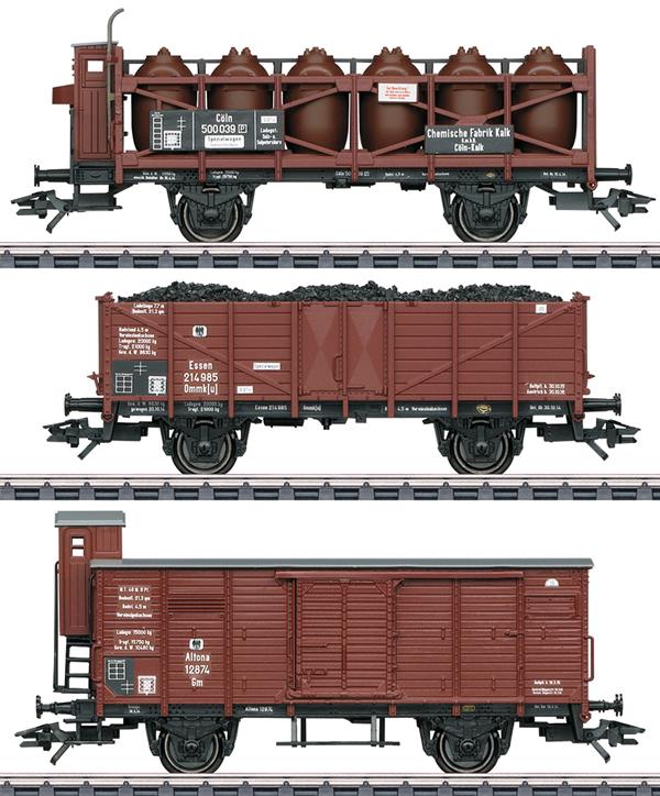 Marklin 46394 - German Freight Car-Set of the KPEV