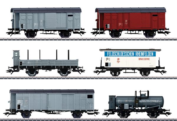 Marklin 46520 - SBB Freight 6-Car Set for the Köfferli, Era II