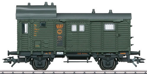 Marklin 46983 - Freight Train Baggage Car Type Pwg Pr 14