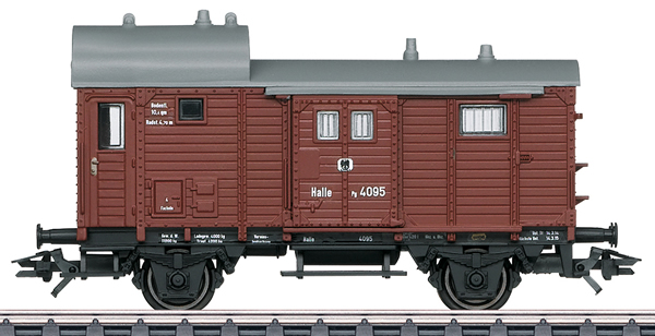 Marklin 46985 - German Freight Train Caboose of the KPEV