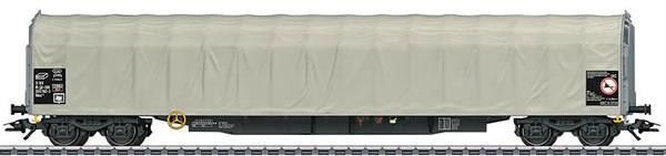 Marklin 47061 - Sliding Tarp Car Type Rilns