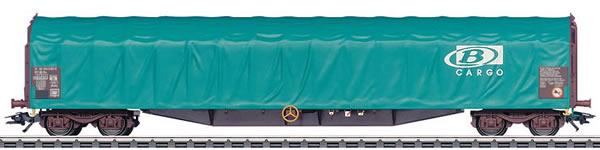 Marklin 47063 - Sliding Tarp Car Type Rils