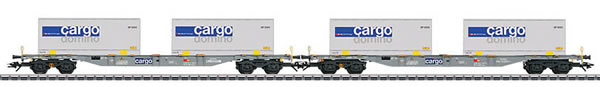 Marklin 47096 - Container Flat Cars Type Sgnss