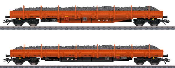 Marklin 47099 - RTS Ballast Transport Low Side 2-Car Set, Era VI