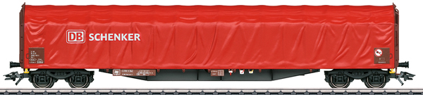 Marklin 47105 - German Sliding Tarp Wagon Rils of the DB Schenker