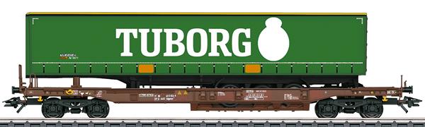 "Marklin 47113 - ""Tuborg"" Deep Well Flat Car"