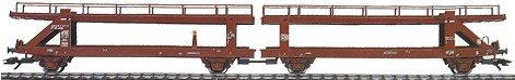 Marklin 4712 - DBL AUTO TRANSPORT CAR  DB 89