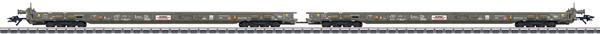 Marklin 47406 - Swiss Freight Car Set, Saadkmms of the HUPAC