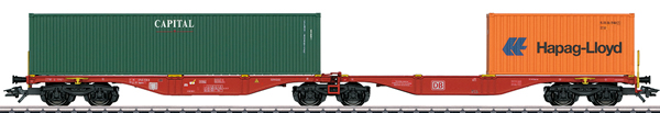 Marklin 47801 - Double Container Wagon type Sggrss 80