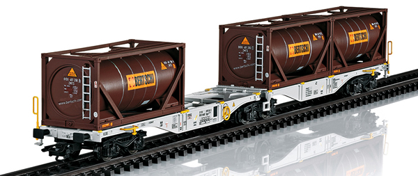 Marklin 47802 - Double Container Wagon type Sggrss 80