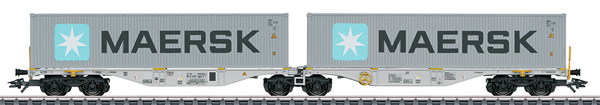 Marklin 47803 - Double Container Wagon type Sggrss 80