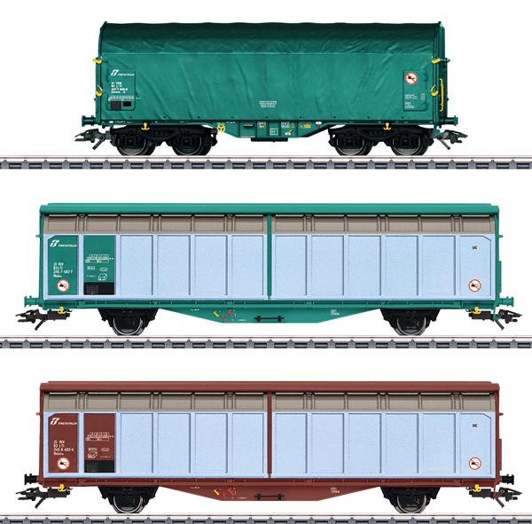 Marklin 47871 - Italy Era VI Freight Car Set, Era VI