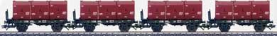 Marklin 48270 - Set Of 4 Type Okmm 38 Coal Transport Cars