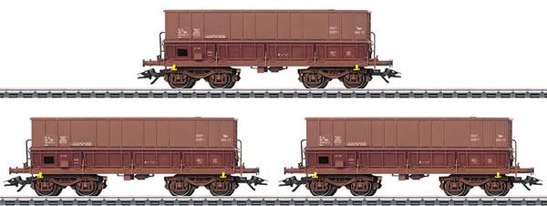 Marklin 48435 - 3pc Hopper Car Set Type Fals
