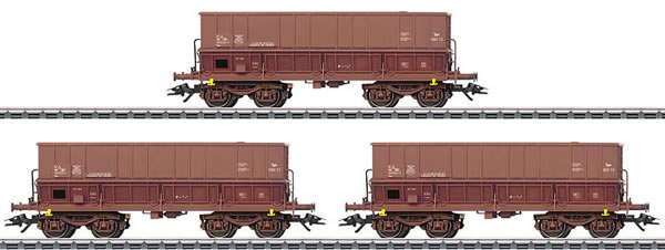 Marklin 48435 - 3pc Hopper Car Set Type Fals