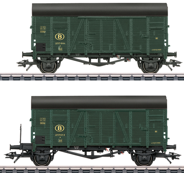 Marklin 48832 - SNCB Oppeln Box 2-Car Set, Era IIIa