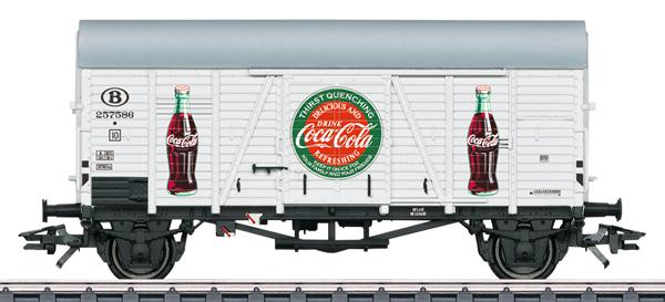 Marklin 48833 - SNCB Type Ghs Coca-Cola® Boxcar, Era III