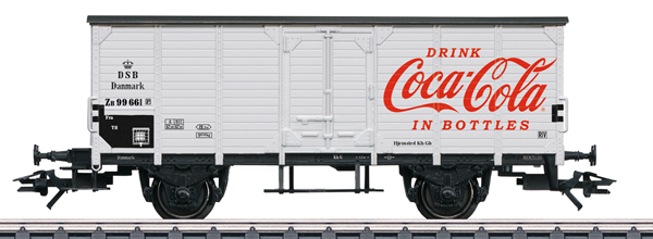 Marklin 48935 - DSB Type G 10 Coca-Cola® Boxcar, Era III