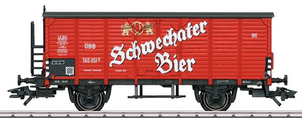 Marklin 48937 - Schwechater Bier Beer Car, Era III