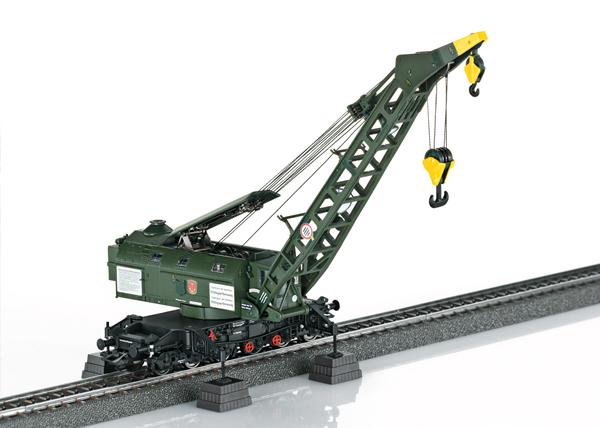 Marklin 49571 - German Steam Crane (Ardelt) of the DB