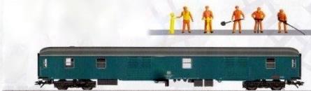 Marklin 49965 - Railroad Maintenance Car with Sound Effects (20th Anniversary Insider Model)