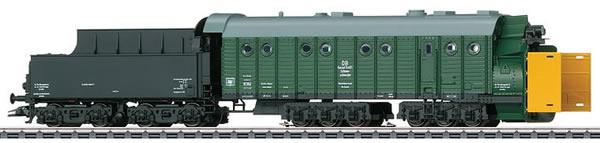 Marklin 49966 - German Steam Powered Rotary Snowplow Henschel of the DB (Sound Decoder)