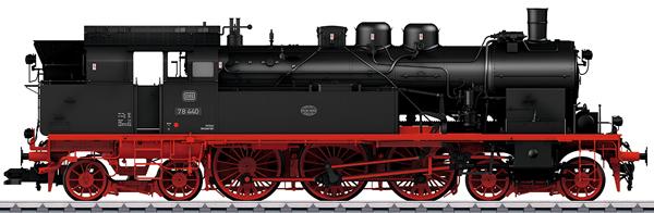 Marklin 55077 - Dgtl DB cl 78 Steam Tank Locomotive, Era IIIb