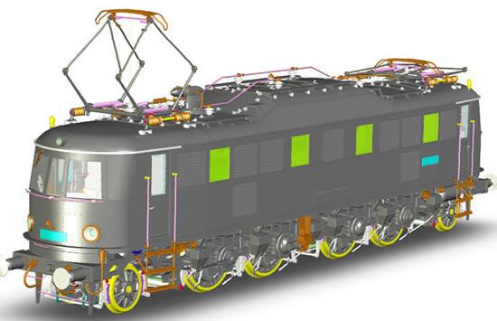 Marklin 55185 - Austrian Electric Locomotive Class 1018.101 of the OBB (Sound Decoder)