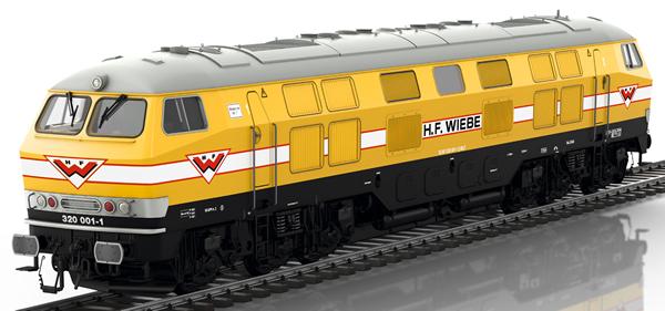 Marklin 55326 - German Diesel Locomotive V 320 001 Wiebe