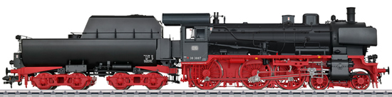 Marklin 55387 - German Steam Locomotive Class 38.10-40 with a Tub-Style Tender of the DB (Sound Decoder)