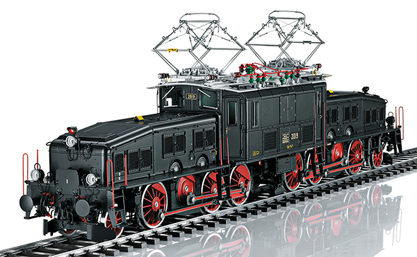 Marklin 55686 - Swiss 1-Gauge Black Crocodile