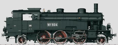 Marklin 55751 - German Steam Locomotive VIc 934 of the Grand Ducal Bad State Railway (Sound Decoder)