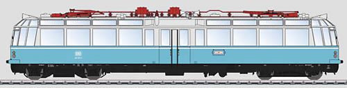 Marklin 55918 - German Electric Observation Car of the DB