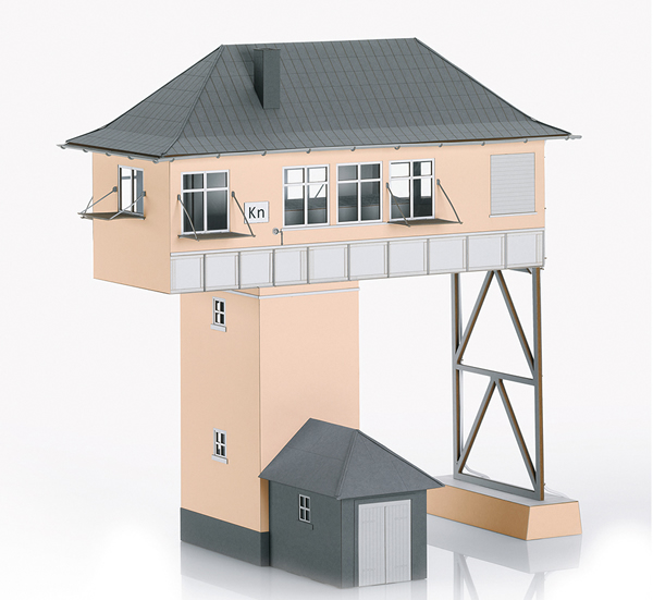 Marklin 56161 - Kreuztal (Kn) Gantry Signal Tower Building Kit
