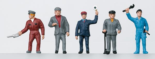 Marklin 56405 - DB Railroad Workers Group of Figures, Era III