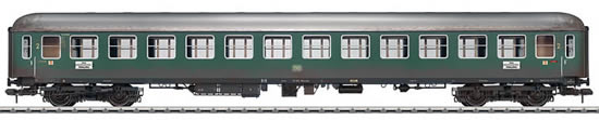 Marklin 58028 - German Express Train Passenger Car type B4üm-61 of the DB, weathered